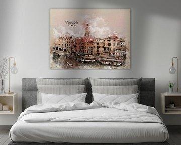 Venedig Venice von Printed Artings