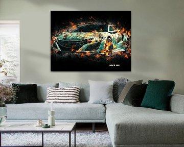 Acura van Printed Artings