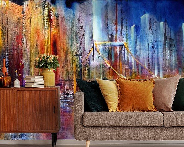 Beispiel fototapete: City von Annette Schmucker