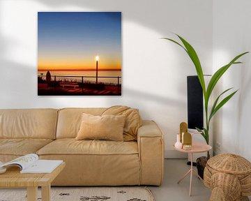 Elektrischer Sonnenuntergang von Ruben van Gogh