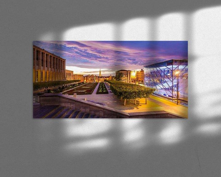 Impression: Mont des Arts à Bruxelles sur Werner Dieterich