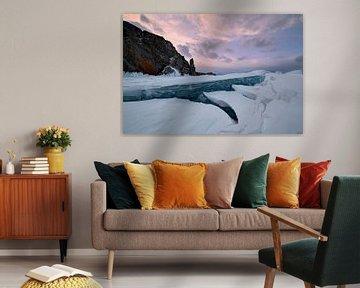 muur van ijs van Jeroen Florijn