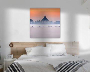 Sint Cathrien in het ochtendgloren