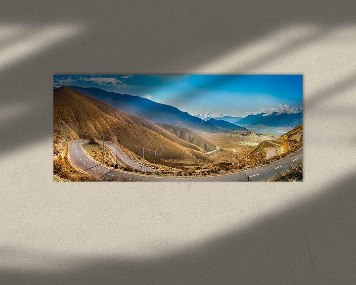 Sfeerimpressie: Panoramaroute door de bergen van Tibet van Rietje Bulthuis