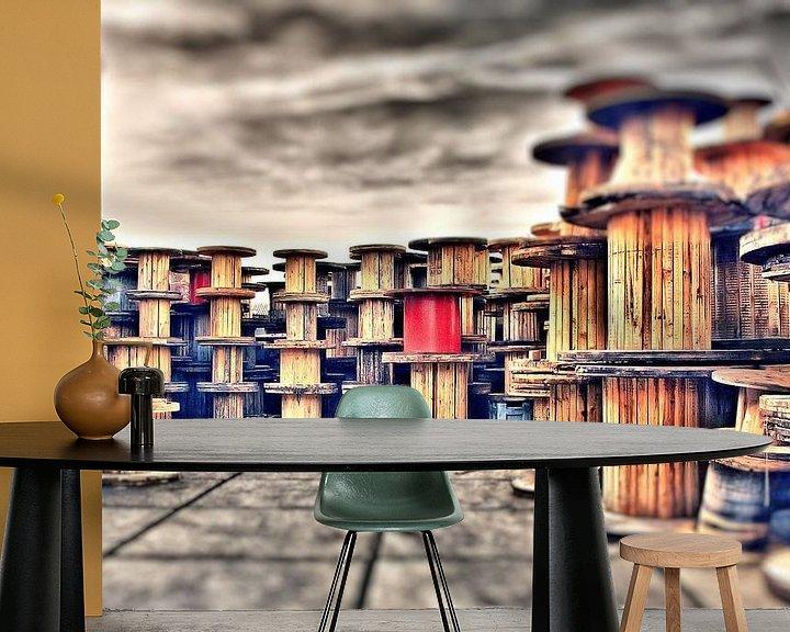Sfeerimpressie behang: Illusion van Michel Derksen