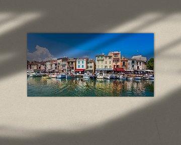 Hafen von Cassis an der Côte d'Azur von Werner Dieterich