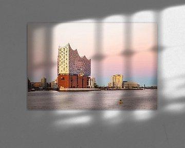 Elbphilharmonie in Hamburg von Werner Dieterich