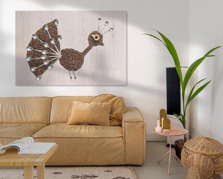 Beispiel: Peacock coffee von Elianne van Turennout