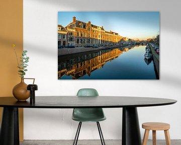 Nieuwe gracht Haarlem van Dirk van Egmond