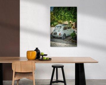 Fiat 500 van Frans Scherpenisse