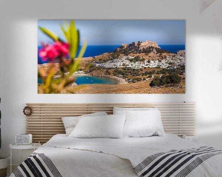 Sfeerimpressie: Lindo's op het eiland Rhodos in Griekenland van Werner Dieterich