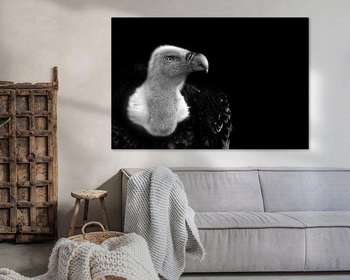 Sfeerimpressie: Vale gier, zwart wit fotografie van Rian Verweijmeren