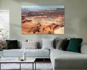 West Amerika de kleur van rood zand van jeroen akkerman