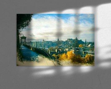 Edinburgh Skyline von Arjen Roos