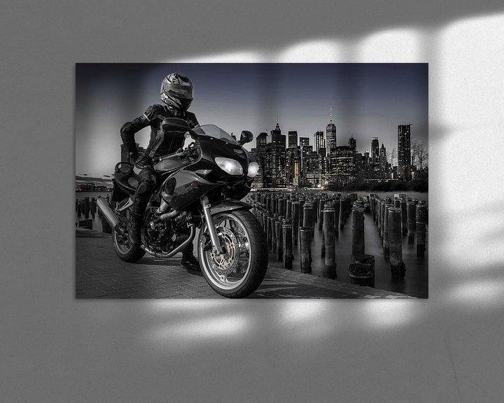 Beispiel: Manhattan Biker von Alexander Schulz