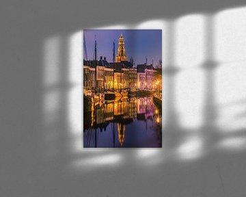 Hoge der A en Lage der A, Groningen, Netherlands van Henk Meijer Photography