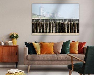 Skyline van Vlissingen van Margo Schoote