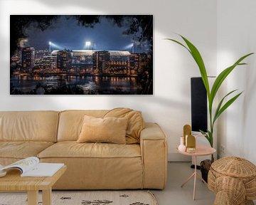 "Feyenoord ART Rotterdam Stadion ""De Kuip"" Luchtfoto van MS Fotografie | Marc van der Stelt"