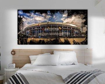 "Feyenoord ART Stade Rotterdam ""De Kuip"" Avant"