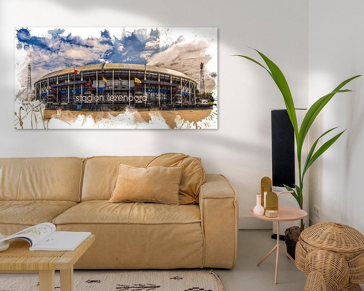 "Sfeerimpressie: Feyenoord ART Rotterdam Stadion ""De Kuip"" Voorkant van MS Fotografie   Marc van der Stelt"