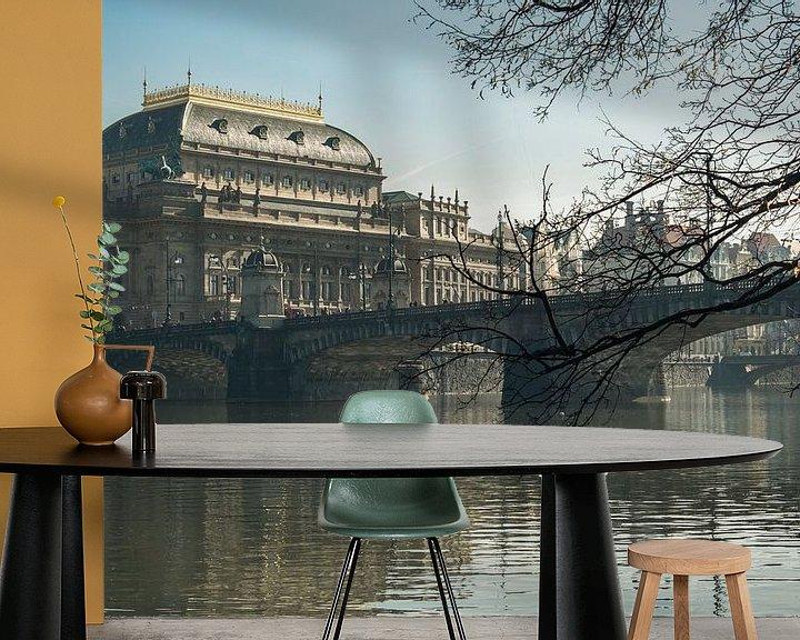 Sfeerimpressie behang: LOST IN PRAGUE 2019-14 van OFOTO RAY van Schaffelaar