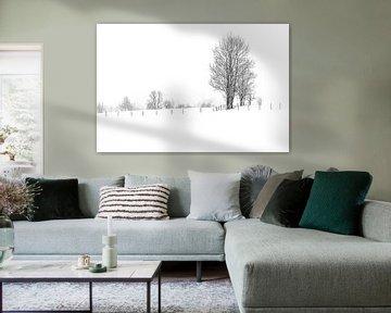 Winter in Dorfgastein von Ratna Bosch