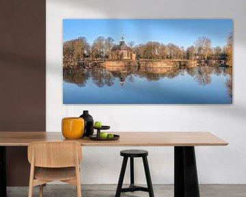 Slotgracht spiegel panorama
