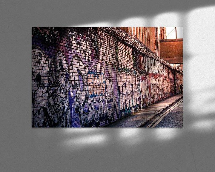 Sfeerimpressie: De muur van Ulbe Spaans
