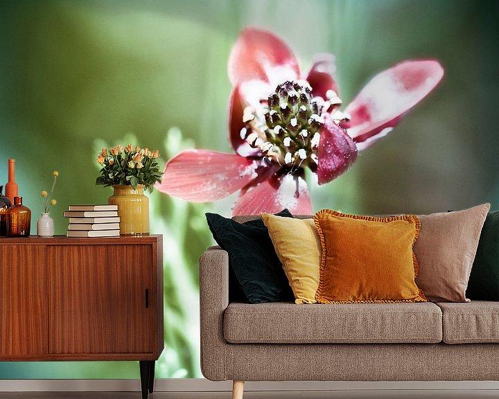 Sfeerimpressie behang: Wind Flower van Nanouk el Gamal - Wijchers (Photonook)