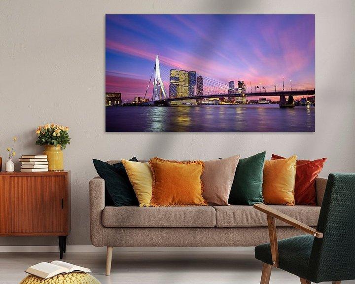 Sfeerimpressie: Schoonheid boven Rotterdam van Sjoerd Mouissie