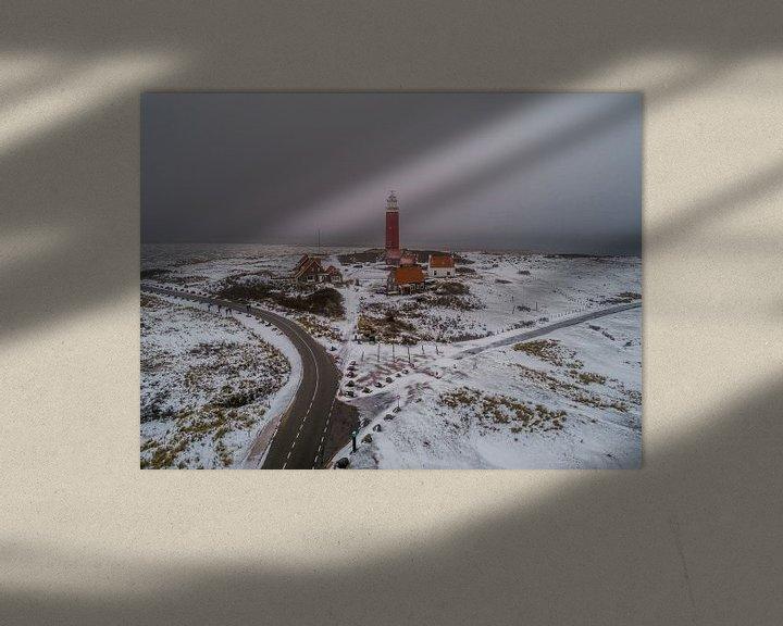 Impression: Winter op Texel - Vuurtoren Eierland sur Texel360Fotografie Richard Heerschap