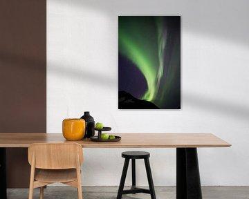 Noorderlicht, Poollicht ofwel Aurora Borealis von Capture The Mountains
