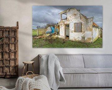 Eiland Texel bouwvallige boerderij
