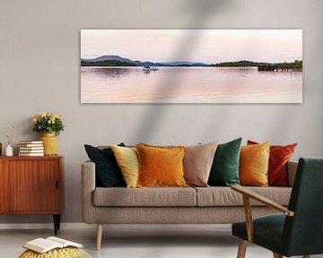 Loch Lomond in Schotland van Werner Dieterich