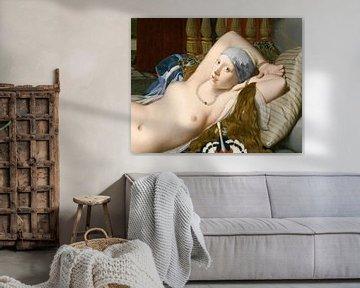 In bed met Griet en Odalisque van Jerome Coppo