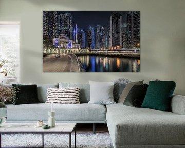 Dubai marina van Peter Korevaar