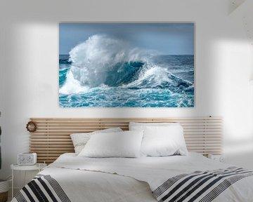 Woeste golven.... van Peter Korevaar