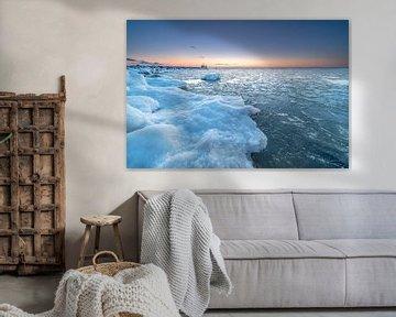 Winter in Nederland van Peter Korevaar