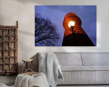 Watertoren aan de Lauwerhof in Utrecht (2) van Donker Utrecht