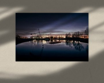 Wolfsburg bei Nacht von Mike Ahrens