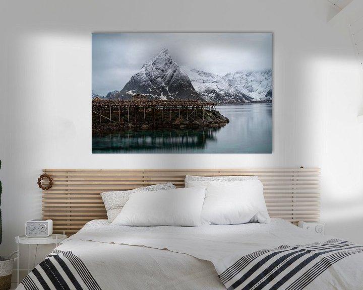 Sfeerimpressie: Nusfjord, Norway Lofoten van Ab Wubben