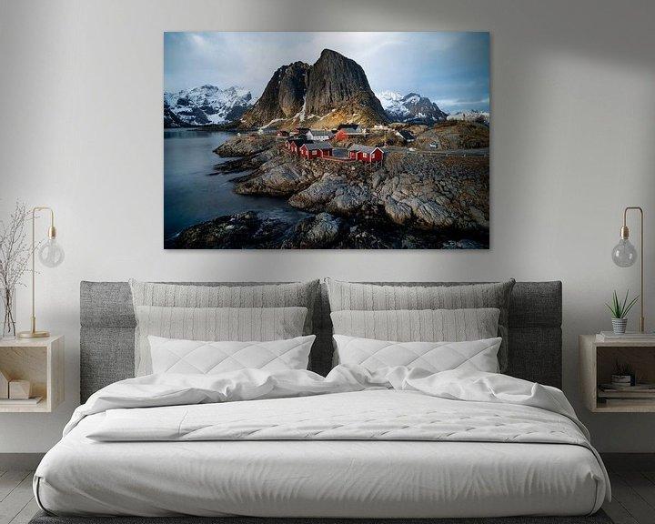 Sfeerimpressie: Hamnøy, Norway Lofoten van Ab Wubben
