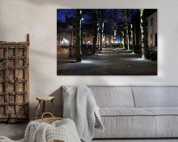 Trajectum Lumen kunstwerk Janslicht bij de Janskerk in Utrecht van Donker Utrecht