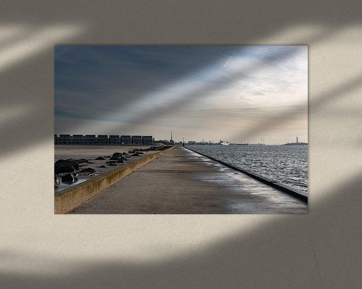 Sfeerimpressie: Pier Hoek van Holland van Jacco van der Giessen