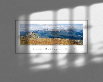 rocky rocky mountains van Karin Hendriks Fotografie