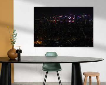 Hong Kong Skyline von Andrew Chang
