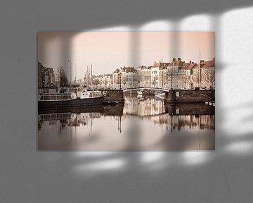 Middelburg in sepia van Teuni's Dreams of Reality