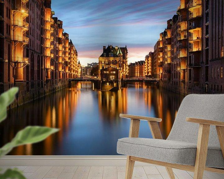 Beispiel fototapete: Hamburg von Patrick Noack