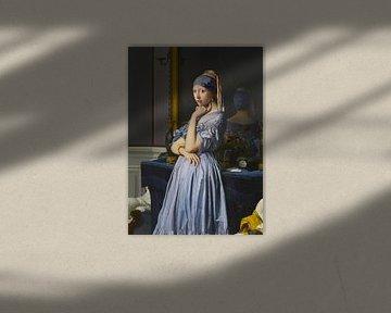 Die Perle und der Spiegel (Collage) von Jerome Coppo