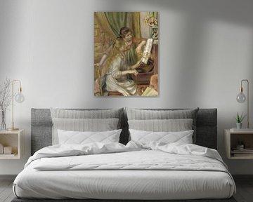 Mädchen am Klavier, Auguste Renoir